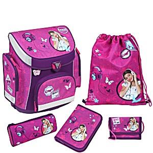 Школьный рюкзак Scooli Disney Violetta Дисней Виолетта с наполнением
