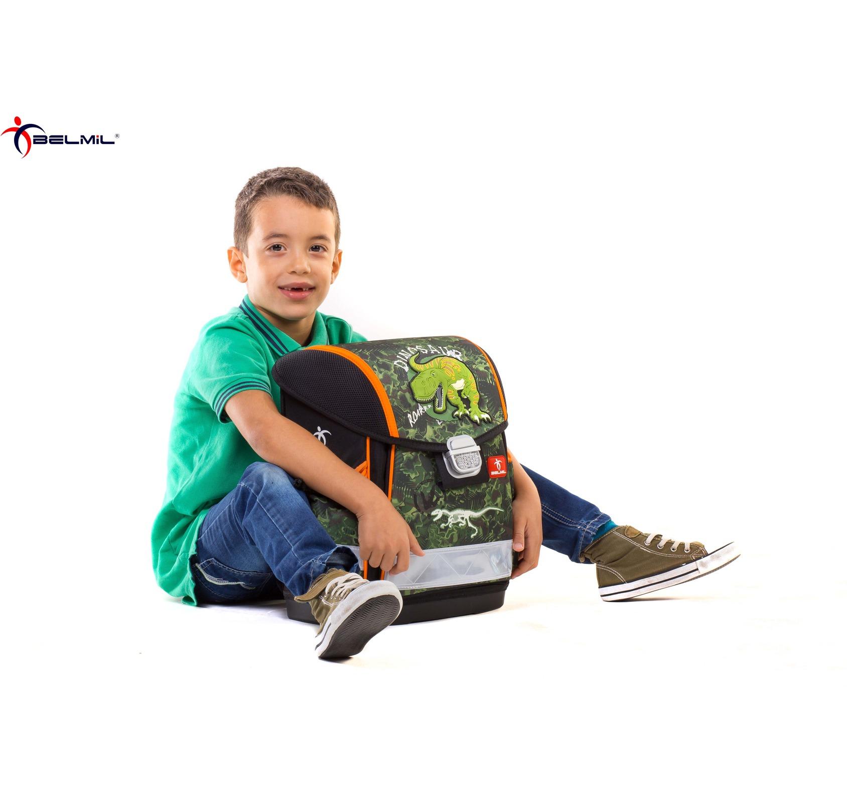 Ранец Belmil Classy 403-13/418 WOLF + мешок для обуви, - фото 12