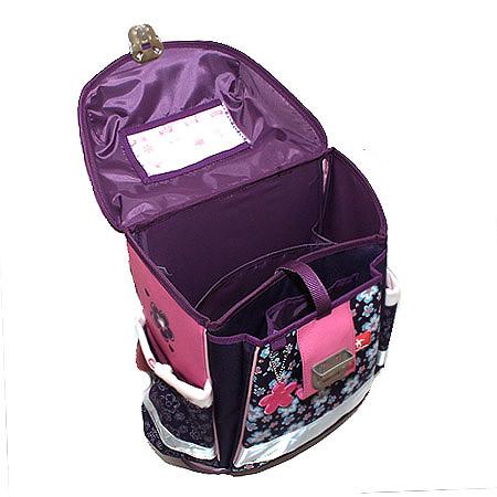 Школьный ранец Belmil 403 13 Magical - Фиолетовый единорог, - фото 5