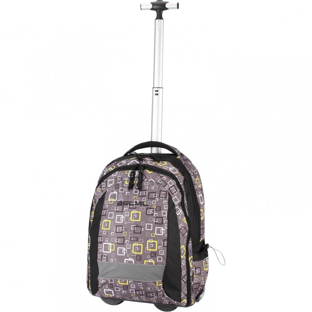 Рюкзак на колесиках с выдвижной с ручкой Belmil BLUE MAGIC 338-45/772, - фото 16