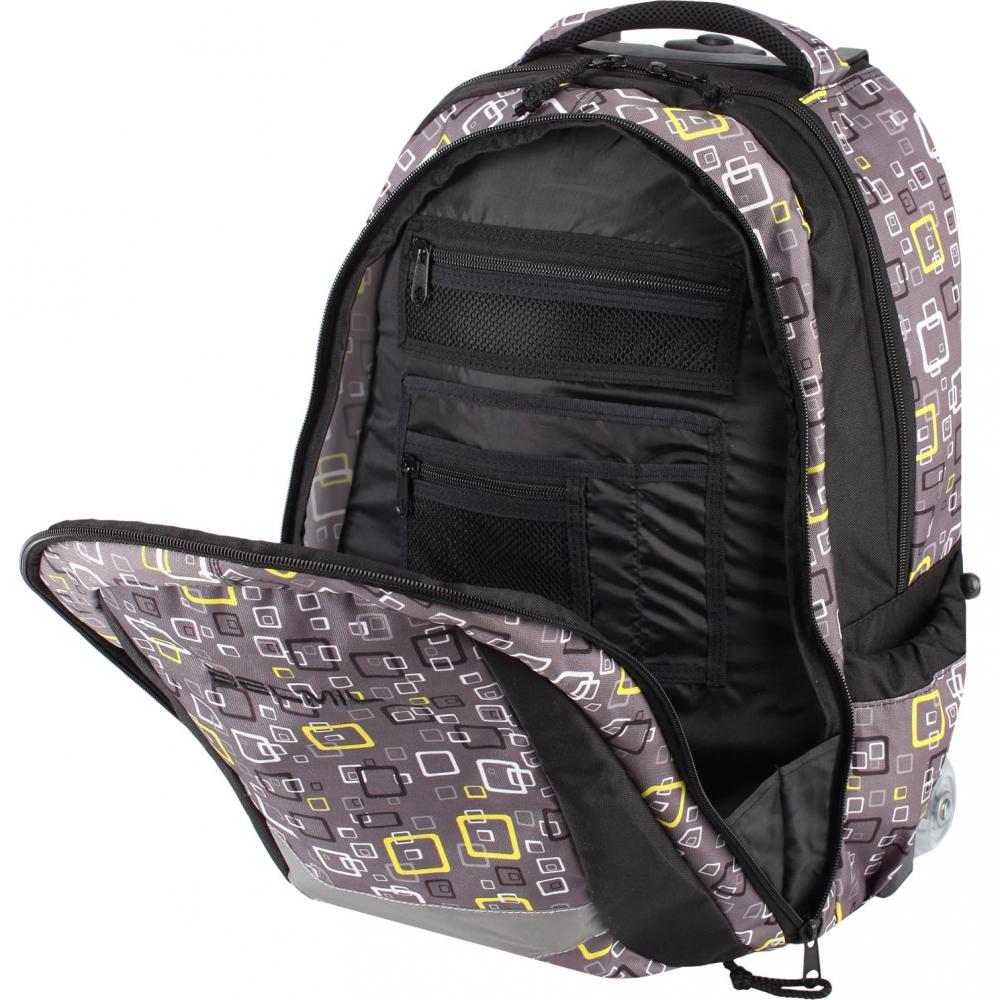 Рюкзак на колесиках с выдвижной с ручкой Belmil BLUE MAGIC 338-45/772, - фото 7