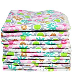 Салфетки пеленки Imsevimse Цветы 12 шт