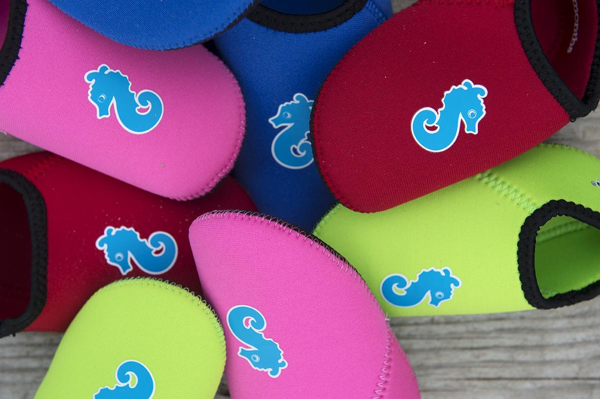Детские тапочки для бассейна и пляжа с покрытием антислип ImseVimse Осьминожка, - фото 4