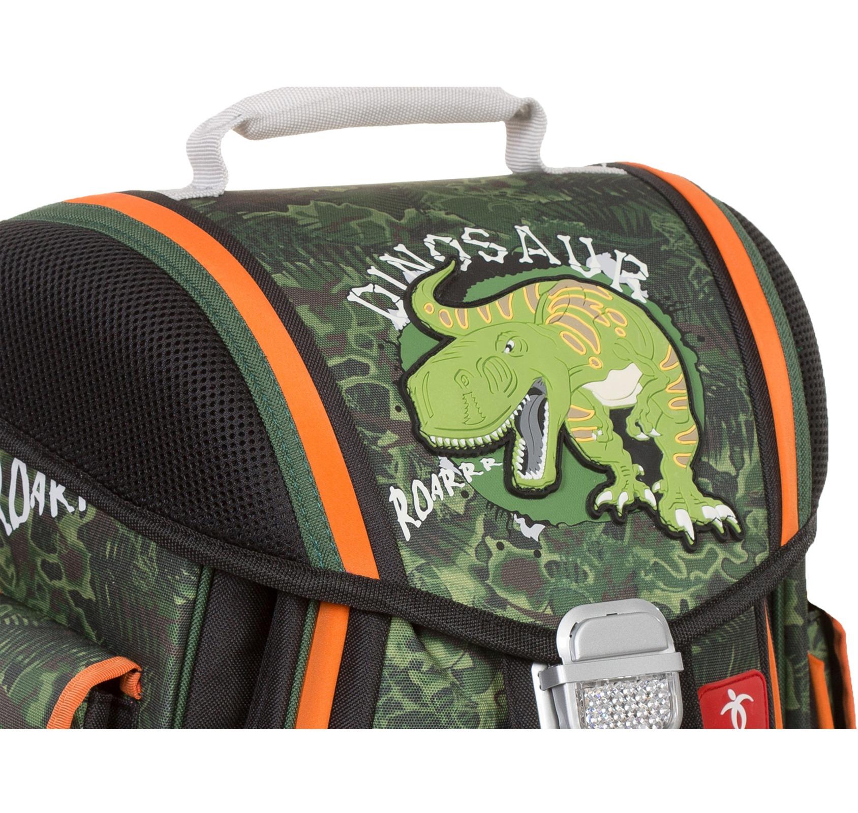 Ранец Belmil Sporty 404-5/442 DINOSAUR + мешок для обуви, - фото 3