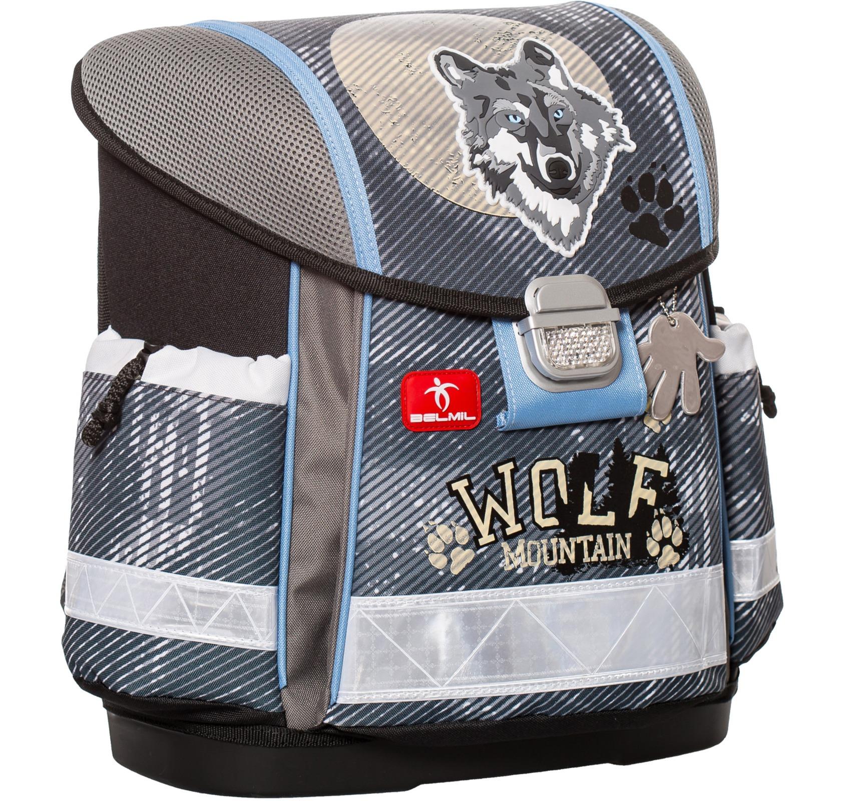 Ранец Belmil Classy 403-13/418 WOLF + мешок для обуви, - фото 2