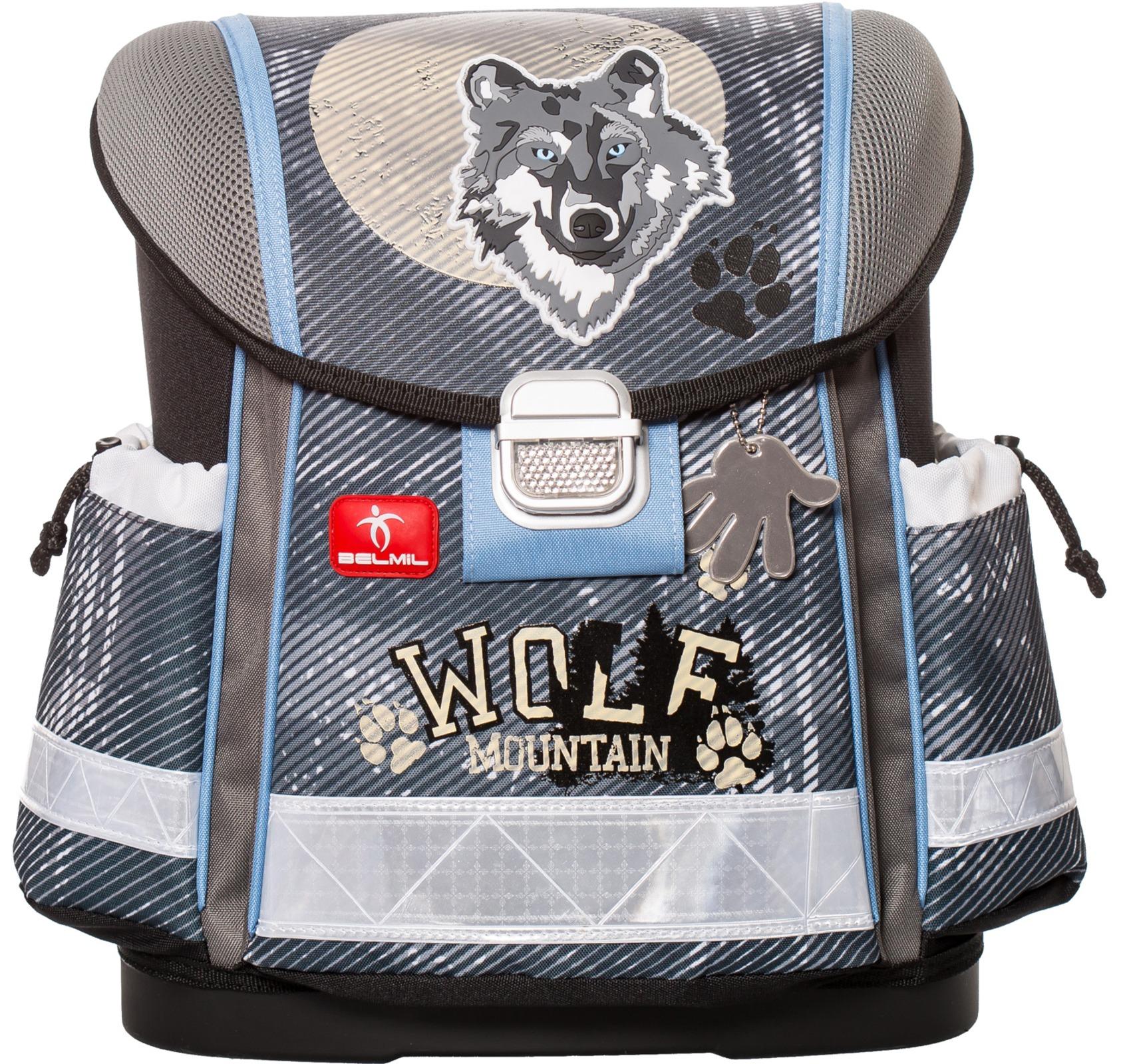 Ранец Belmil Classy 403-13/418 WOLF + мешок для обуви, - фото 1