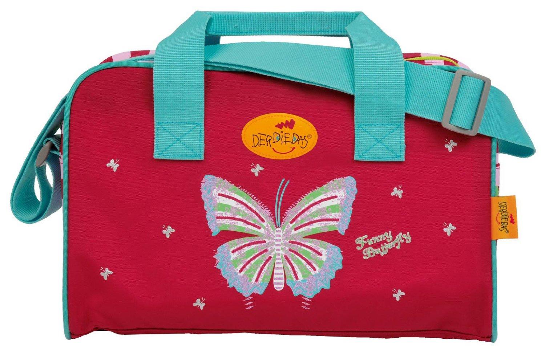 Школьный ранец DerDieDas ErgoFlex XL с наполнением Крылья Бабочки + нагрудный ремень, - фото 10