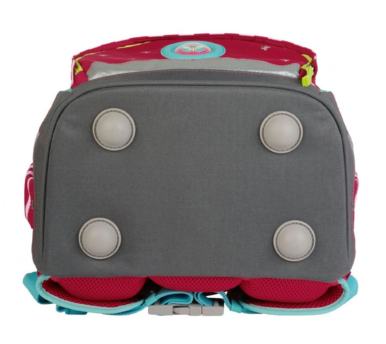Школьный ранец DerDieDas ErgoFlex XL с наполнением Крылья Бабочки + нагрудный ремень, - фото 9