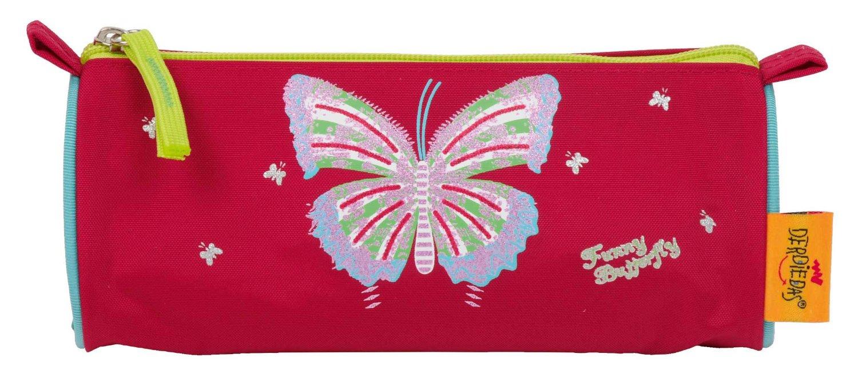 Школьный ранец DerDieDas ErgoFlex XL с наполнением Крылья Бабочки + нагрудный ремень, - фото 13