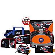 Школьный ранец DerDieDas EXKLUSIV для первоклассника с наполнением Формула 1