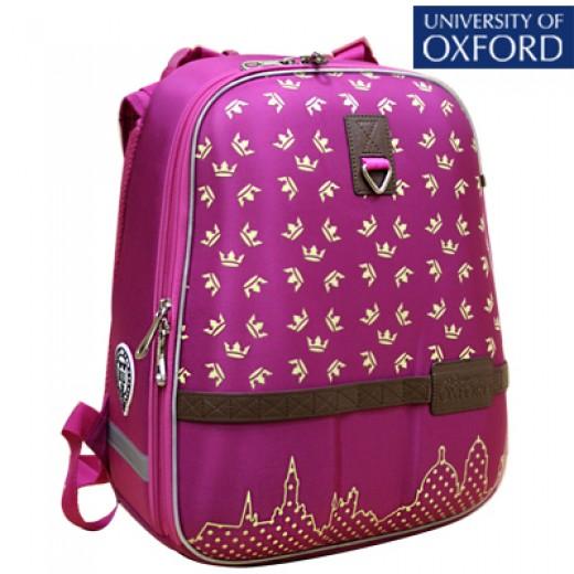 510c91d4c2f1 Купить Школьный рюкзак OXFORD 1008-OX-78 Оксфорд Короны малин/желт ...