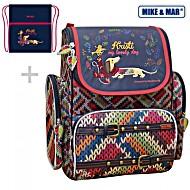 Школьный рюкзак Mike&Mar Майк Мар Такса (синий) 1074-ММ-123 + мешок для обуви