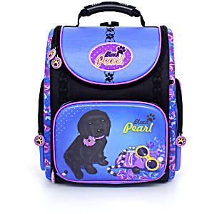 Школьный рюкзак – ранец HummingBird K95 Black Pearl с мешком для обуви