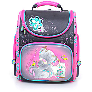 Школьный рюкзак – ранец HummingBird K105 Teddy с мешком для обуви