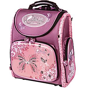 Школьный рюкзак – ранец HummingBird K34 Butterfly с мешком для обуви