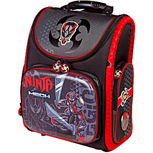 Школьный рюкзак – ранец HummingBird K107 Ninja Mech с мешком для обуви