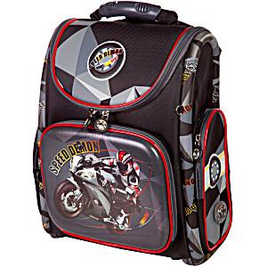 Школьный рюкзак – ранец HummingBird K110 Speed Demon с мешком для обуви
