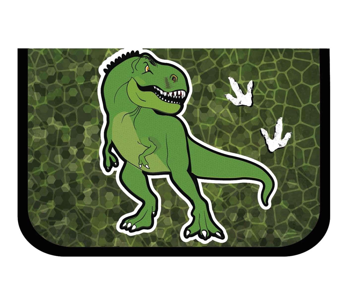 Ранец Mike Mar Динозавр 1074-ММ-150 + мешок для обуви + пенал в подарок, - фото 9