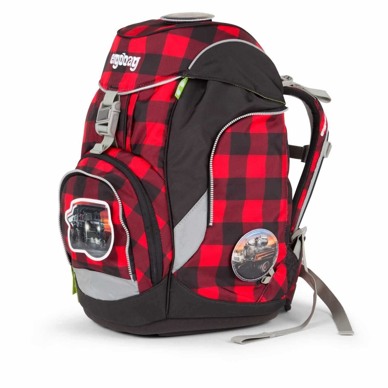 Рюкзак Ergobag LumBearjack с наполнением + светоотражатели в подарок, - фото 7