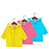 Плащ-дождевик детский с капюшоном  цвета в ассортименте