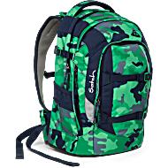 Satch Pack рюкзак для школьника цвет Green Camou