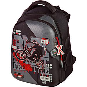 Школьный ранец Hummingbird T78 фристайл черный + мешок