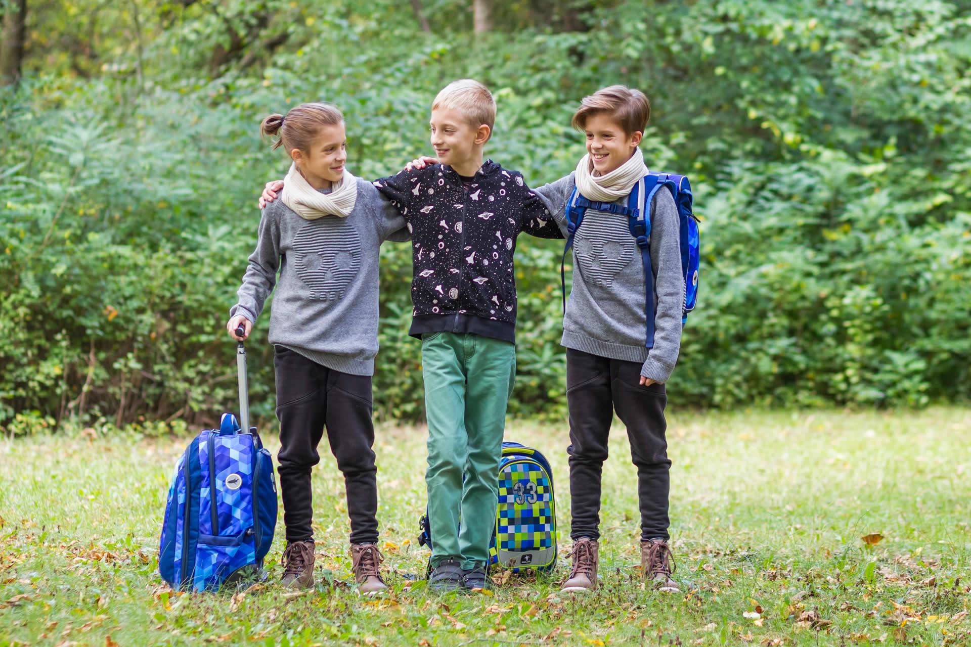 Рюкзак на колесиках с выдвижной с ручкой Belmil BLUE MAGIC 338-45/772, - фото 19