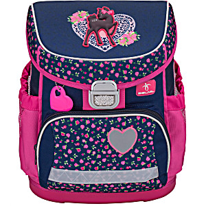 Ранец Belmil 405-33 MINI-FIT LOVE IN COLORS + мешок и пенал + фломастеры