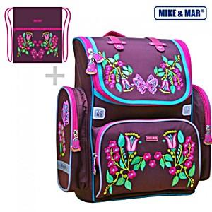 Ранец Mike 1074-ММ-146 + мешок для обуви + пенал