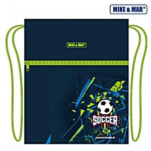 Мешок для обуви Mike&Mar Майк Мар Футбол синий