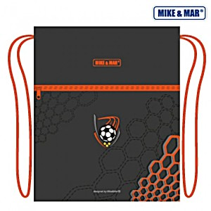Мешок для обуви Mike&Mar Майк Мар Футбол серый