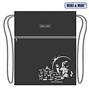 Мешок для обуви Mike&Mar Майк Мар Космос серый