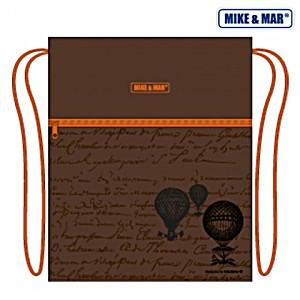 Мешок для обуви Mike&Mar Майк Мар Глобус коричневый