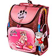 Школьный рюкзак - ранец HummingBird Kitty K83 с мешком для обуви