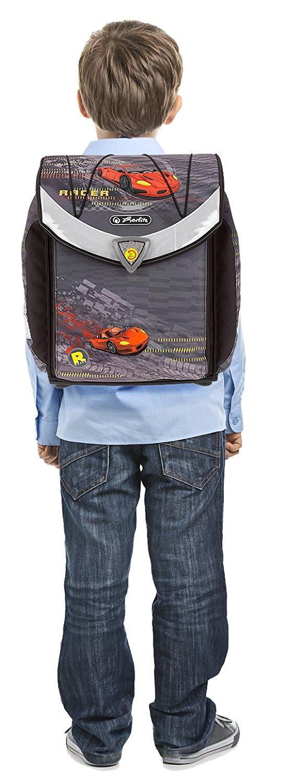 Школьный ранец Herlitz Flexi Plus SPEED без наполнения Скорость, - фото 11
