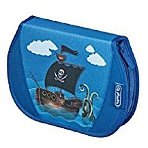 Пенал Herlitz с наполнением 26 предметов Пират