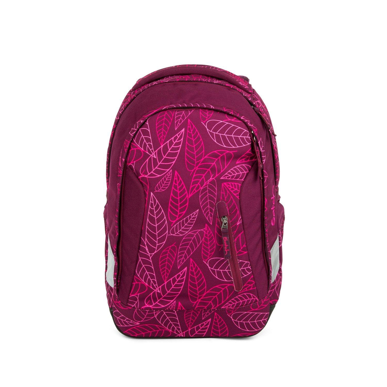 Рюкзак Ergobag Satch Sleek цвет Purple Leaves, - фото 2