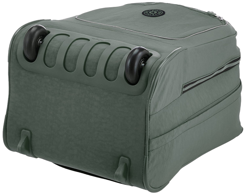 Рюкзак на колесах Kipling CLAS Soobin L оливковый, - фото 4