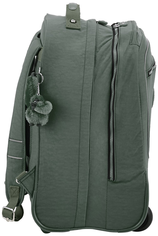 Рюкзак на колесах Kipling CLAS Soobin L оливковый, - фото 2