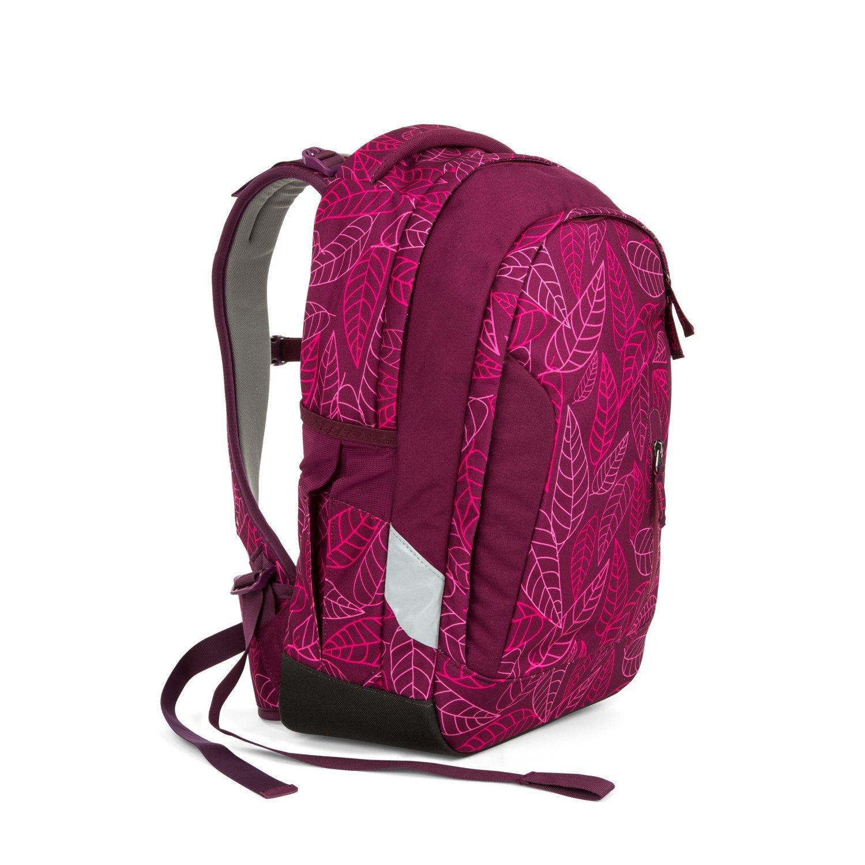 Рюкзак Ergobag Satch Sleek цвет Purple Leaves, - фото 3