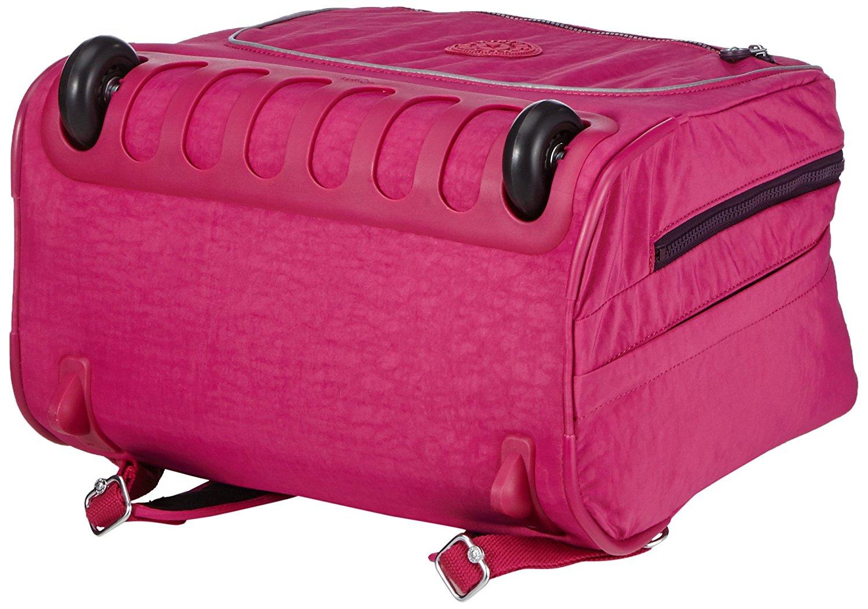 Рюкзак на колесах Kipling CLAS DALLIN цвет малиновый, - фото 5
