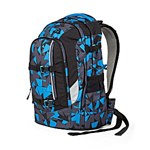 Рюкзаки Ergobag Satch Pack цвет Blue Triangle