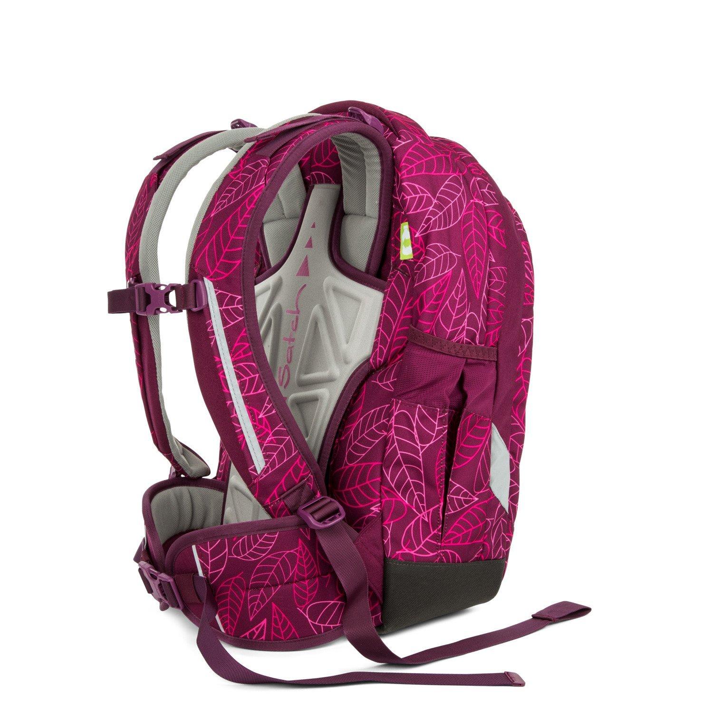 Рюкзак Ergobag Satch Sleek цвет Purple Leaves, - фото 6