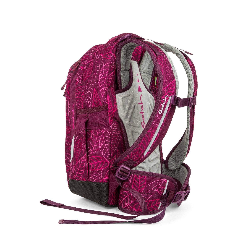 Рюкзак Ergobag Satch Sleek цвет Purple Leaves, - фото 4