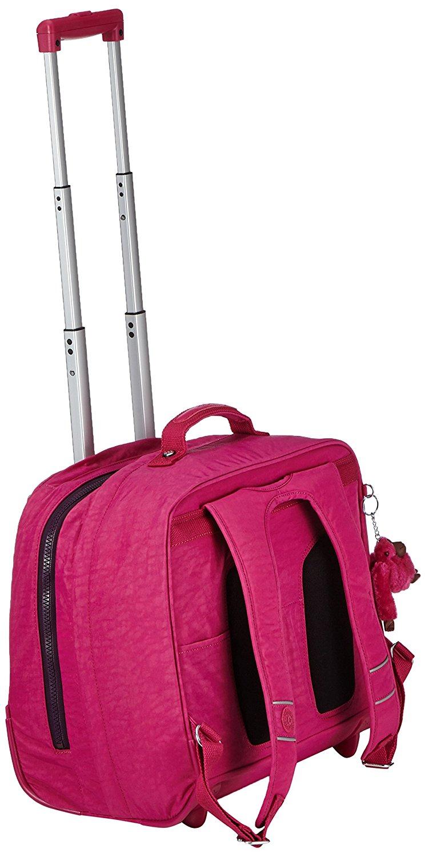 Рюкзак на колесах Kipling CLAS DALLIN цвет малиновый, - фото 2