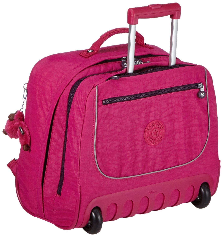 Рюкзак на колесах Kipling CLAS DALLIN цвет малиновый, - фото 1
