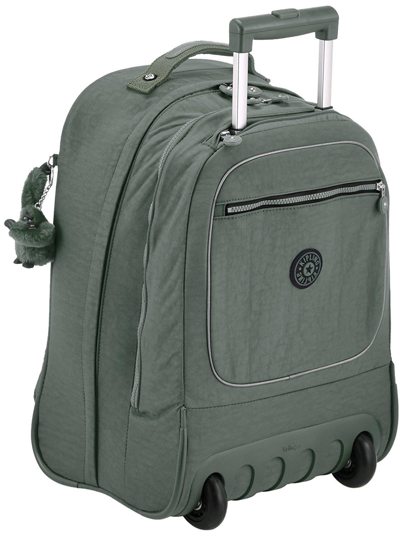 Рюкзак на колесах Kipling CLAS Soobin L оливковый, - фото 1