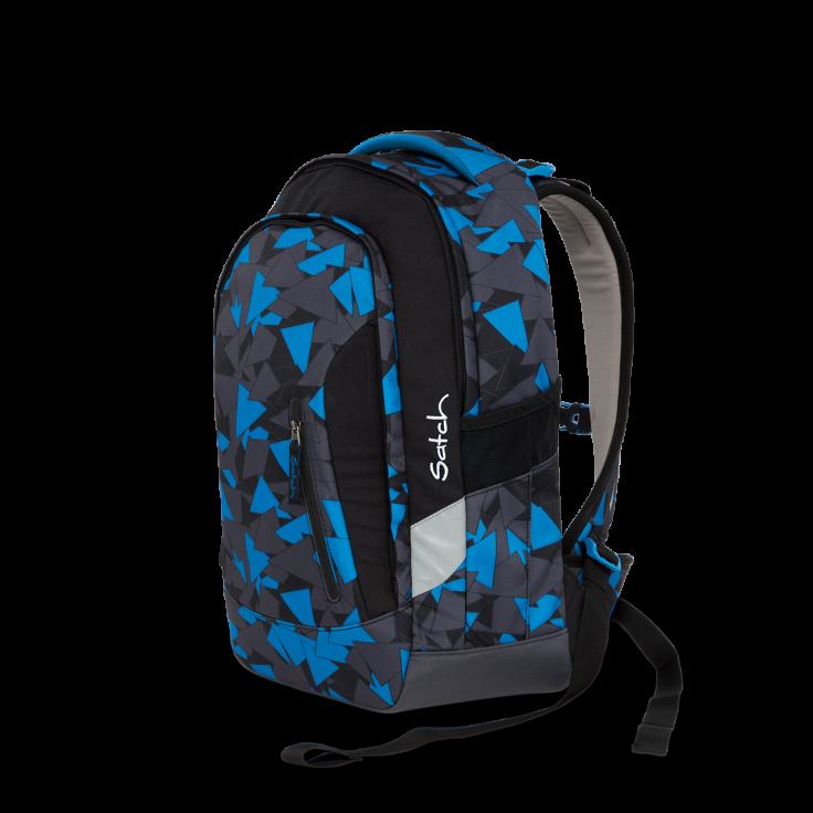 Рюкзак Ergobag Satch Sleek цвет Blue Triangle, - фото 1
