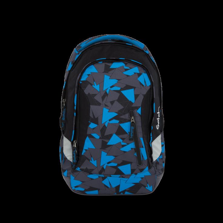 Рюкзак Ergobag Satch Sleek цвет Blue Triangle, - фото 2