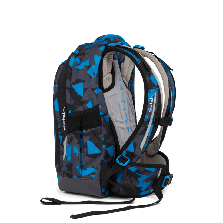 Рюкзак Ergobag Satch Sleek цвет Blue Triangle, - фото 4